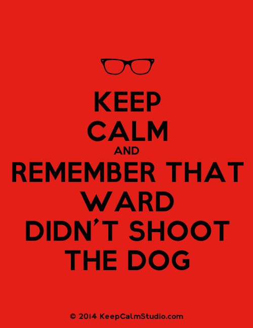 Keep Calm and Remember That Ward Didn't Shoot The Dog || Grant Ward || #fanedit