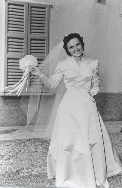 St. Gianna on her wedding day