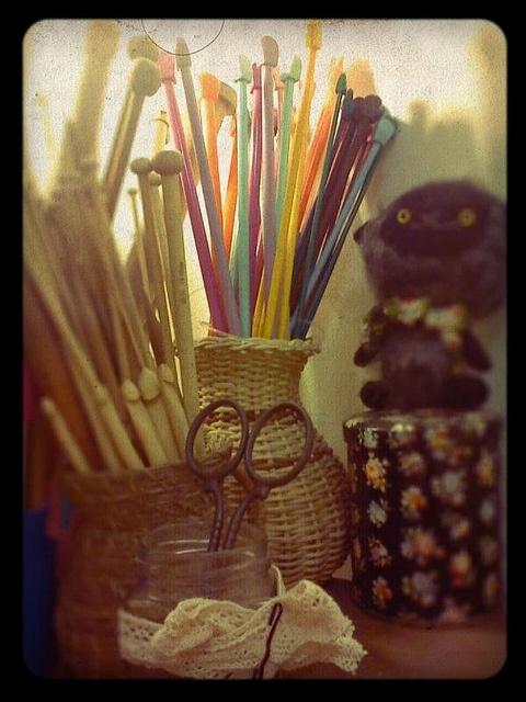 mis herramientas by Mercedes Galarce .:Miti - Mota:., via Flickr
