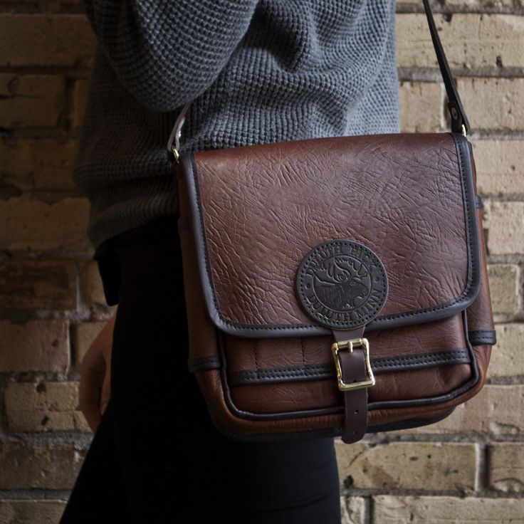 Bison Leather Mini Haversack by Duluth Pack  Love this!