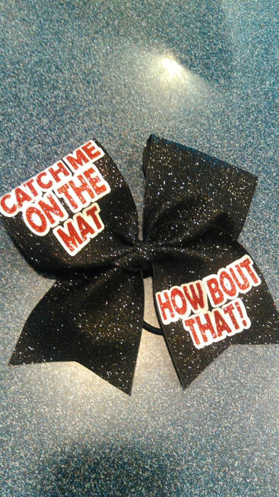 Check out this item in my Etsy shop https://www.etsy.com/listing/496561908/catch-me-on-the-mat-how-bout-that