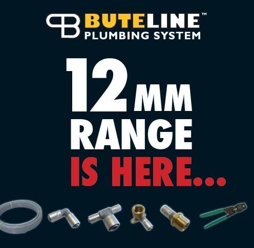 Buteline 12mm range is HERE! Completely compatible with our existing size ranges, now you can use Buteline for installing 12mm to help save water and energy.   Enquire at your local plumbing merchant or call 0800 BUTELINE for more info.