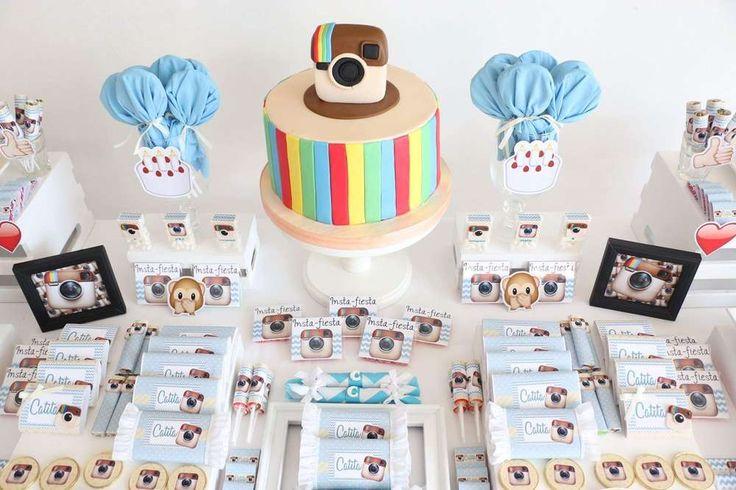 Instagram Birthday Party Ideas | Photo 1 of 31