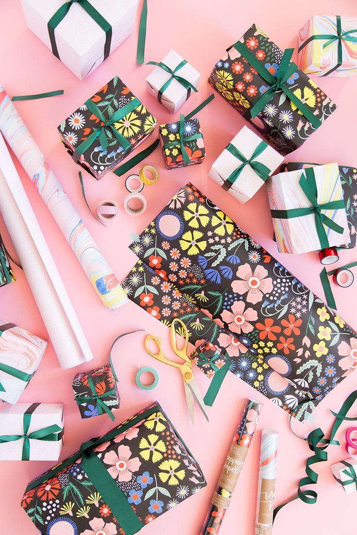 Wrapping tips for gorgeous gifts every time brit co - Introducing Our New Line Of Wrapping Paper