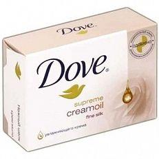Dove Supreme Creamoil Fine Silk 4x100gr  Gebruik Dove Supreme Creamoil Fine Silk als een toiletzeep. In tegenstelling tot gewone zeep droogt Dove de huid niet uit want Dove bestaat uit neutrale reinigende ingredienten en bevat 1/4 hydraterende crème.  EUR 4.54  Meer informatie  #drogist