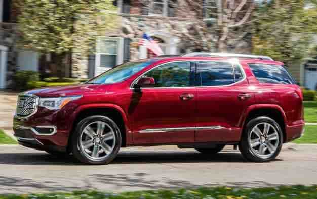 2019 Gmc Acadia Denali Colors 2019 Gmc Acadia Denali Colors The 2019 Gmc Acadia Denali Is The Top Trim Of A Acadia Denali Gmc Acadia