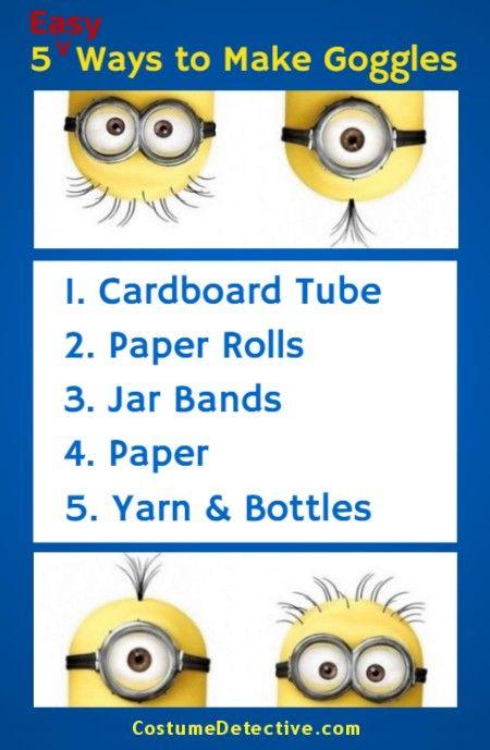 5 Easy Minion Goggles