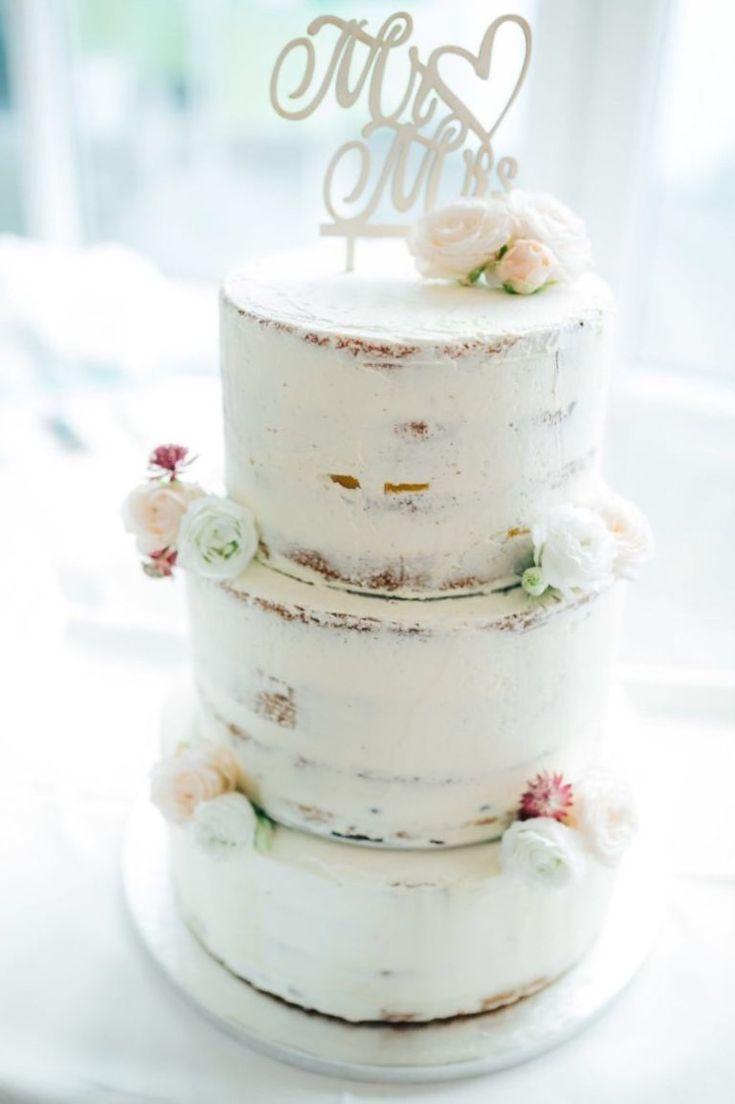 Halbnackte Hochzeitstorte selber backen   teeunkooken.de   – CP 8818