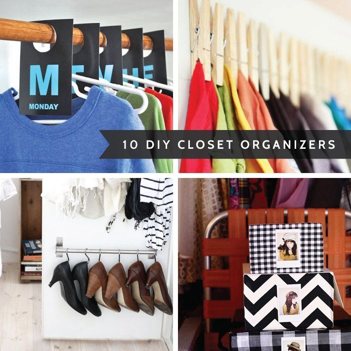 10 Clever Closet Organizing Diy Projects
