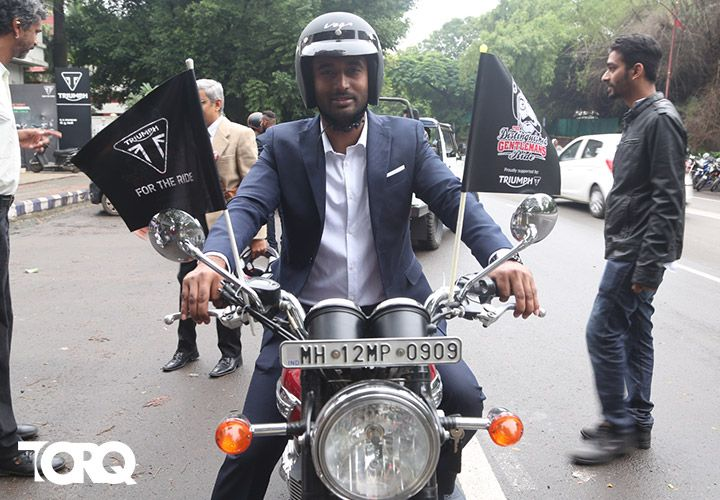 Distinguished Gentleman's Ride (DGR) The Distinguished Gentleman's Ride (DGR) - Ride for Pride, Ride for Cause!! Download the TORQ App to know more - play.google.com/... #TORQ #TORQapp #motorcyclediaries #GentlemanRide #lifeontwowheels #lifewithautomobile #bikerlife
