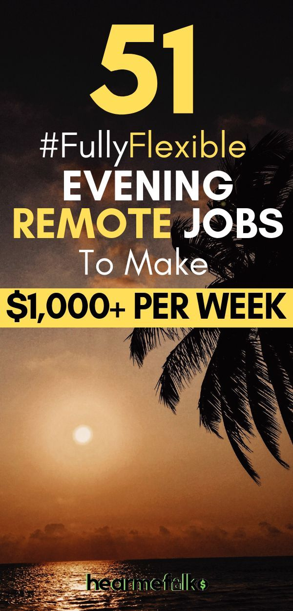 51 Best Late Night Work From Home Jobs That Pay Often Night Jobs