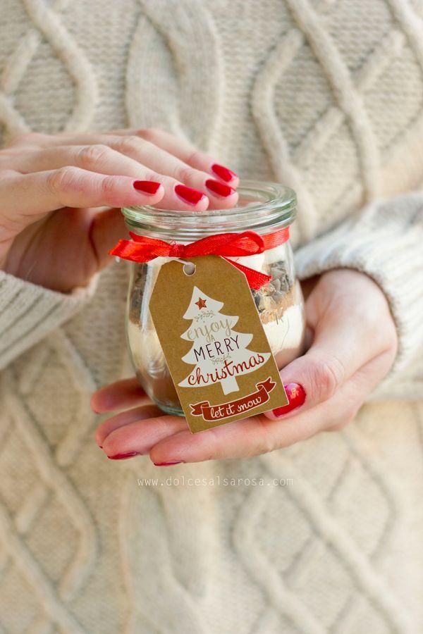 Preparato per cioccolata calda - gift idea - idea regalo - Christmas - hot chocolate