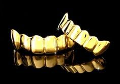 14k Gold Teeth, Gold Grills, Gold Grillz, Grills Teeth - Buy Online Pure 14k Gold Teeth At 30% To 5 by kapatikora