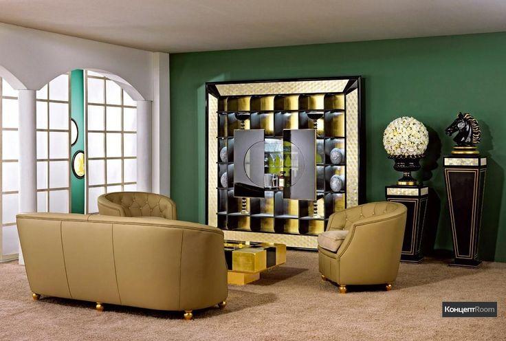 Ваза Mosaik, Vismara / Аксессуары для гостиной / Аксессуары / Мебель - КонцептRoom - Онлайн-Магазин Элитной Мебели, Света и Сантехники