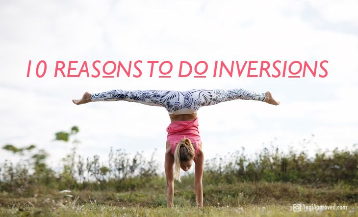 Inversions are often looked at as something only advanced rock star yogis can or should do, but this is far from the truth. Inversions can be safely practi