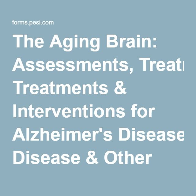 98 best articles images on pinterest backpacks travel and the aging brain assessments treatments interventions for alzheimers disease other dementias fandeluxe Choice Image