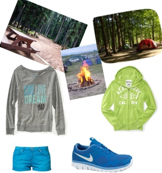 Summer camp outfit