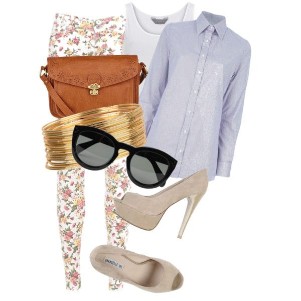 """""""FLORAL BURST <3"""" by lusciouslulls on Polyvore"""