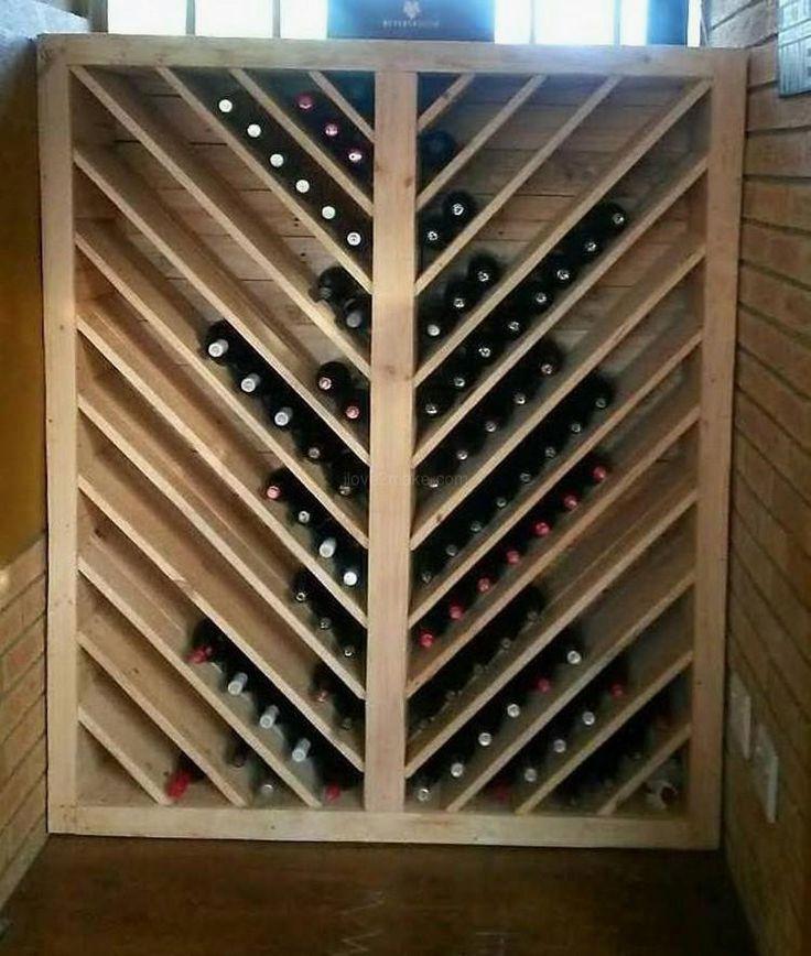 14 Diy Wine Racks Made Of Wood Wine Rack Diy Wine Rack Wine