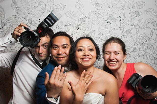 #photobooth #bruiloft Trouwen met een dubbele ceremonie | ThePerfectWedding.nl | Fotocredit: Marco + Claudia