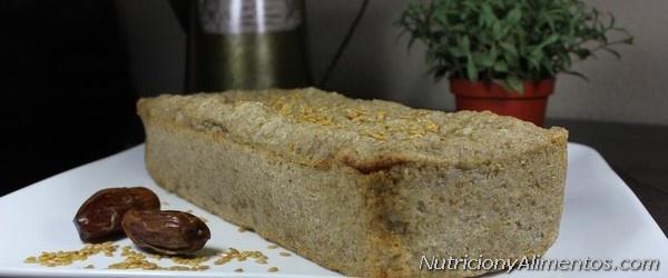 Plum cake trigo sarraceno