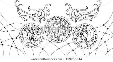 Art Deco Vector Elements together with Art Nouveau Clipart Flowers together with Art Deco Art Moderne besides Art Nouveau Alphabet Font likewise Black chain frame illustration. on art deco fan clipart
