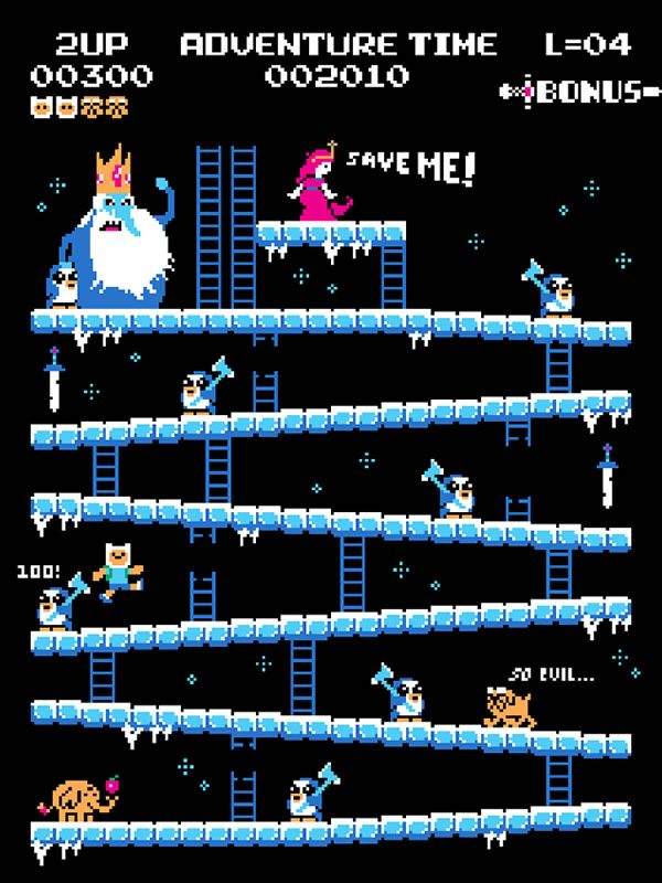 Baznet loves Donkey Kong. He loves it so much that he designed those really cool mash-ups with all our favorite universes.