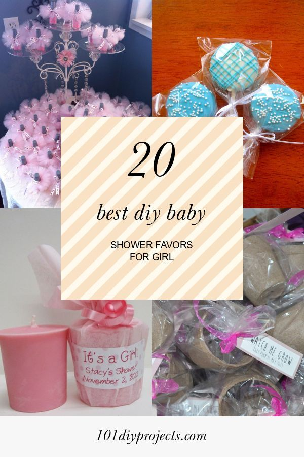 20 Best Diy Baby Shower Favors For Girl Home Diy Projects