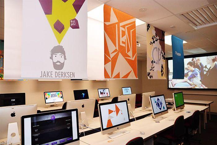 Computer Lab Decoration Pictures ~ Best ideas about computer lab design on pinterest