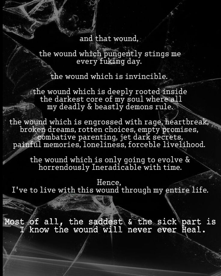Sad Quotes About Depression: And That WOUND #2017 #life #death #sad #suicide #emotions #feelings #words #help #selfless