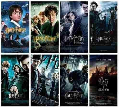 Saga Completa Harry Potter Peliculas Harry Potter Ciencia Ficcion