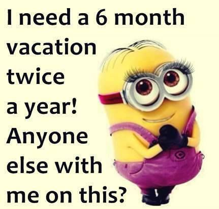 Yesssssss vacation!!