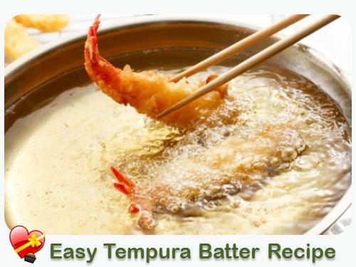 Easy Tempura Batter - for seafood or veggies