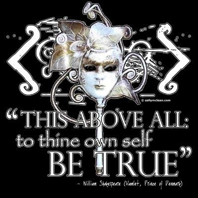 "quote to thine own self be true | this above all: to thine own self be true"" hamlet quote picture on ..."