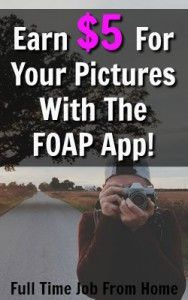 Learn How You Can Earn $5 For Every Photo Sold on the FOAP App!
