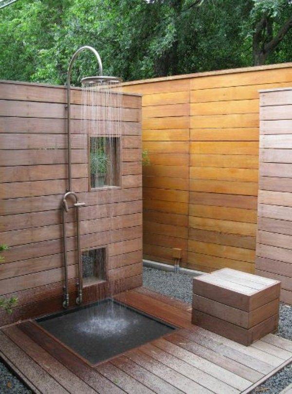 32 besten Gartendusche Bilder auf Pinterest Badezimmer - ideen gartendusche design erfrischung