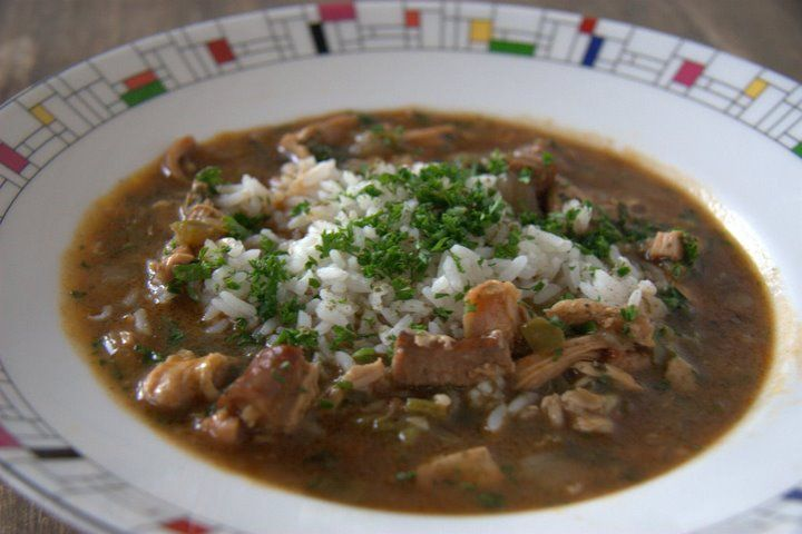 Chicken and Andouille Sausage Gumbo | { delicioso } | Pinterest