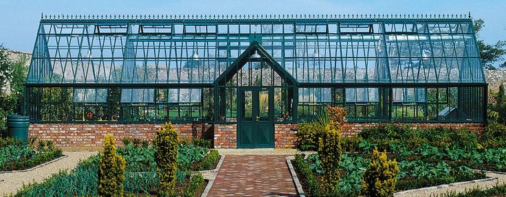 A Two Partition Custom Greenhouse by Hartley Botanic