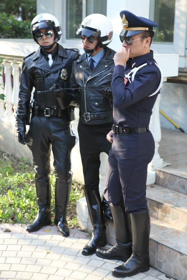 Cops boots gay