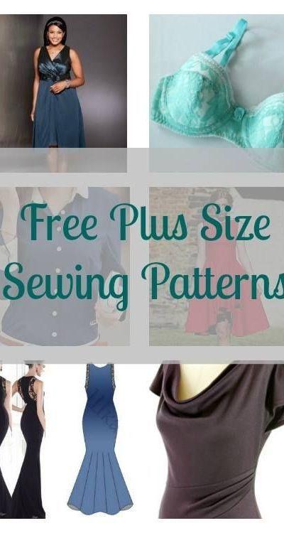 FREE Plus Size Sewing Patterns 1