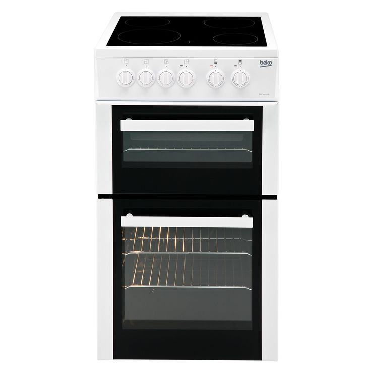 Beko Freestanding Electric Cooker with Electric Hob, BDC5422AW   Departments   DIY at B&Q
