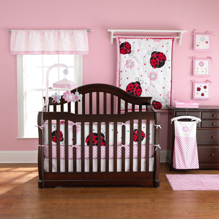 Have to have it. Too Good by Jenny McCarthy - Pretty in Pink 5 pc. Reversible Crib Set $99.98