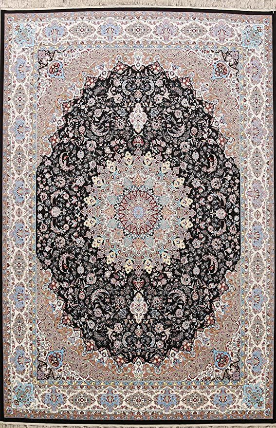 10x13 Traditional Black Floral Area Rug Oriental Carpet For Dining Room 9 8 Quot X 13 1 Quot Floral Area Rugs Oriental Carpets Oriental Rug