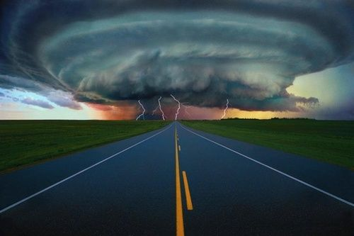 Storm Cell, Alberta, Canada photo via karin
