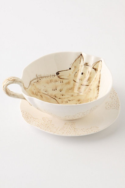 Land And Sea Cup & Saucer: