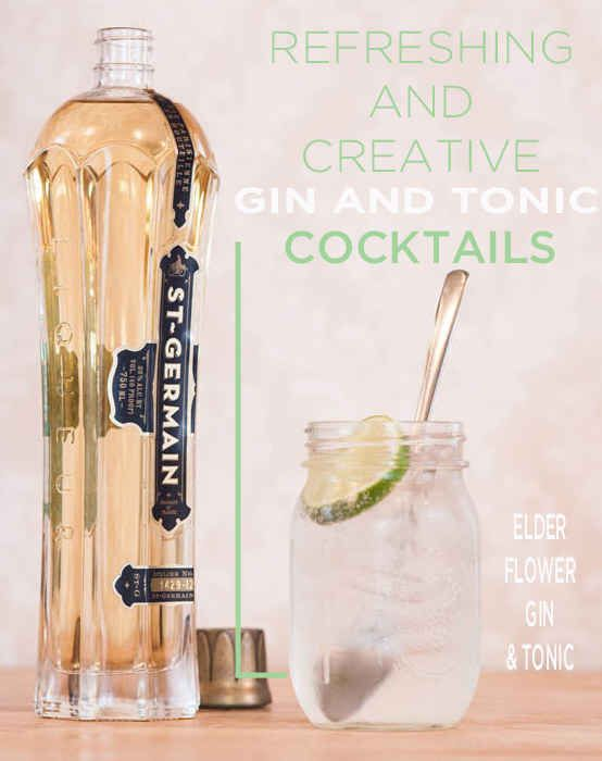 16 Creative Gin And Tonic Cocktails from our good friends at buzzfeed.
