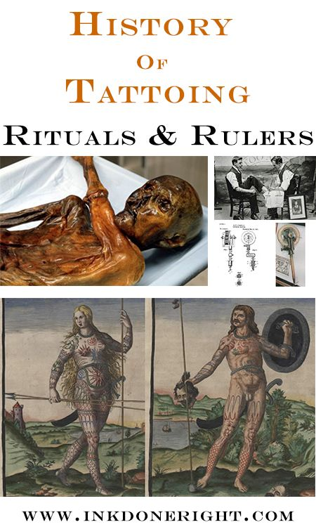 History of Tattooing: Rituals and Rulers  Without a doubt, tattoos have been around for as long as we have had human history to keep track of. This is the next article in our History of Tattooing... #‎inkdoneright #‎tattoo #‎tattoos #‎inked #‎art  #‎tattooed