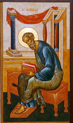 Life of St. Matthew the Evangelist