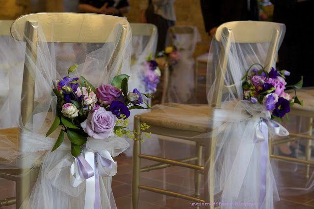 sedie degli sposi