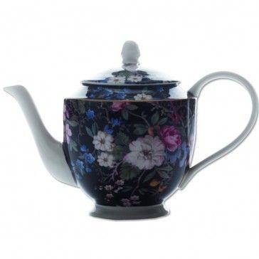Maxwell Williams William Kilburn Large Teapot - Midnight Blossom